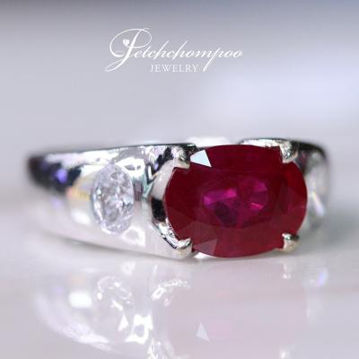 [25797] Pigon Blood Burma Ruby with  AIGS Certificate  69,000