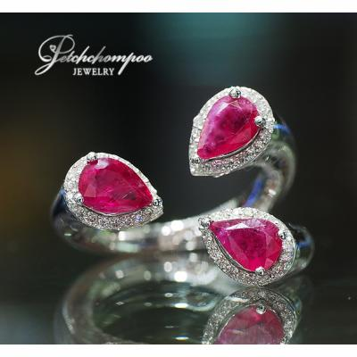 [023359] Ruby with diamond ring  39,000