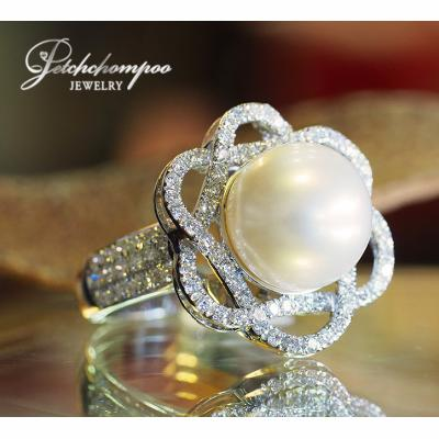 [023388] South Sea with diamond ring Discount 59,000