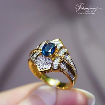 [014521] Sapphire ring with Diamond Discount 39,000