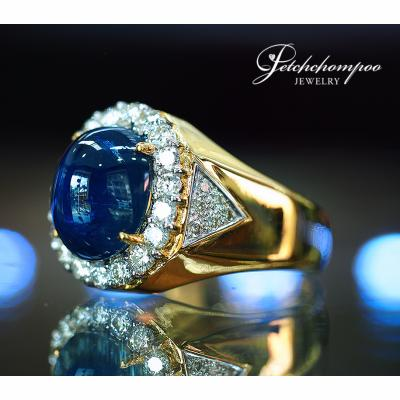 [022580] 7.44 Carats Royal Blue Sapphire Ring Discount 159,000