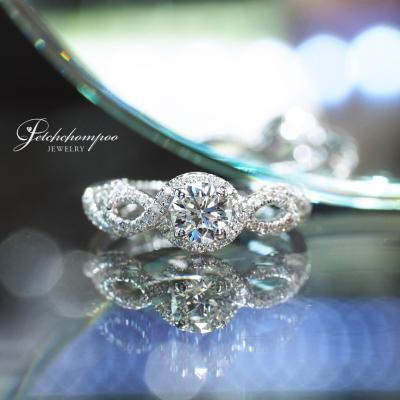 [25185] แหวนเพชรเม็ดกลาง 0.50 กะรัต ลดราคาเหลือ 69,000