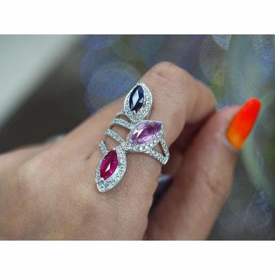 [022786] Sapphire Ring Discount 39,000