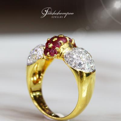 [25552] Ruby With Diamond Ring  39,000