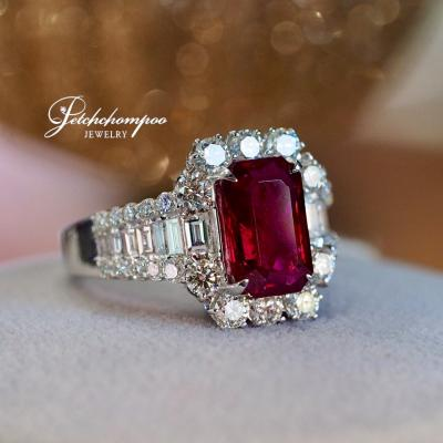 [025098] Siam Ruby Ring, Vivid Red Discount 390,000