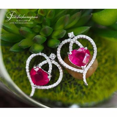 [022779] Ruby with Diamond Ring  69,000