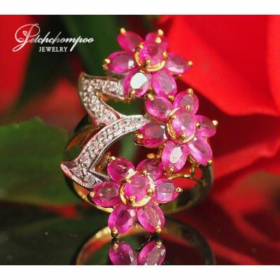 [023167] Ruby with diamond ring  39,000