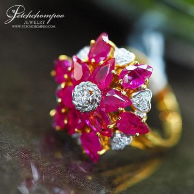 [022782] Ruby with Diamond Ring  69,000