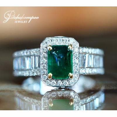 [022501] Columbia Emerald With Diamond Ring Discount 89,000