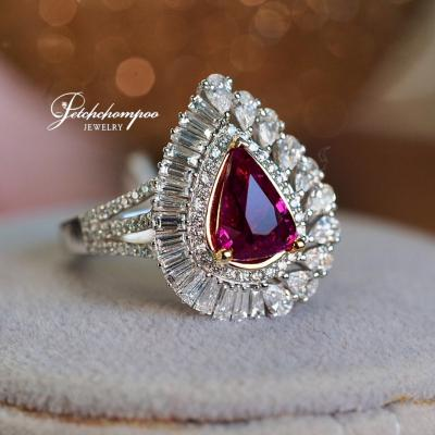 [025097] Mozambique Ruby Ring Discount 229,000
