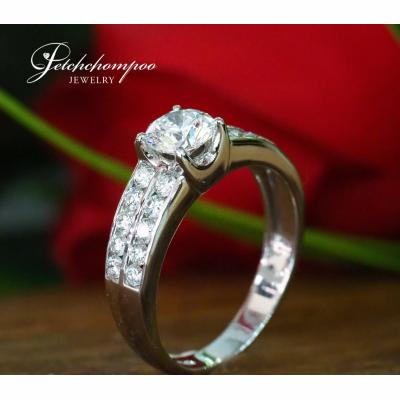 [025041] 0.80 Carat F Color GIA Certificate ring Discount 129,000