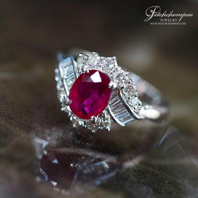 [022784] Ruby with Diamond Ring   79,000