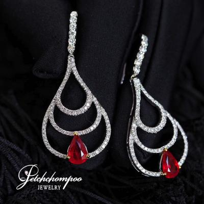 [022382] Ruby With Diamond Earring  79,000