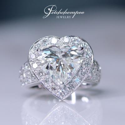 [015118] Diamond ring with HRD I IF, 3.06 ct Discount 990,000