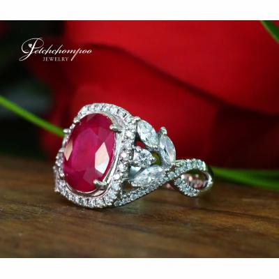 [025065] Ruby and diamond rings Discount 89,000