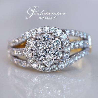 [25312] แหวนเพชรหน้ากว้าง  39,000