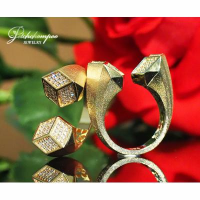 [022950] Italy White Gold with diamond Ring  59,000