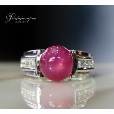 [025162] 15 Carat Ruby with Diamond Ring Discount 69,000