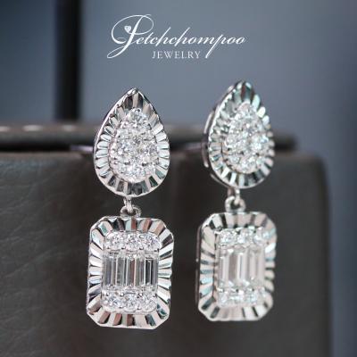 [022458] Diamond earrings Discount 39,000