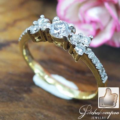 [007628] Diamond Ring with 0.20 carat  Discount 25,000