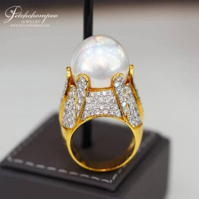 [022597] South Sea Pearl Ring 17 mm Discount 79,000