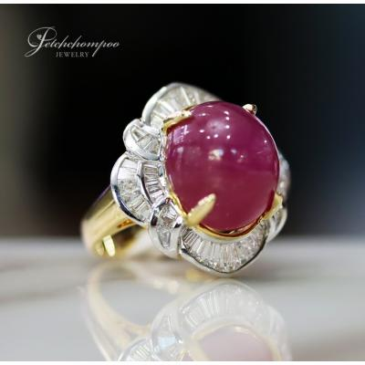 [025158] 19 Carat Ruby with Diamond Ring Discount 89,000