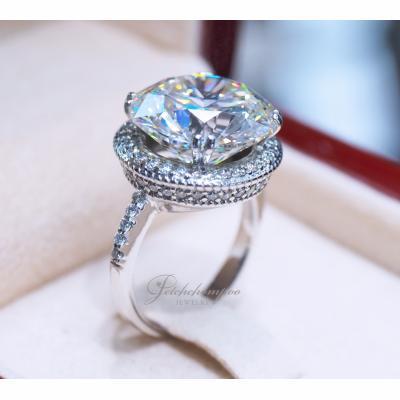 [024342] แหวนเพชรใบเซอร์  IGI 10.57 กะรัต K Color (น้ำ 93)     ลดราคาเหลือ 5,990,000