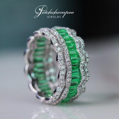 [021618] Emerald Eternity ring Discount 75,000