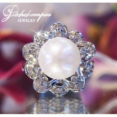 [018727] Pearl Ring 11 MM diamond ring Discount 29,000