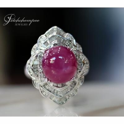 [025163] 16 Carat Ruby with Diamond Ring Discount 89,000