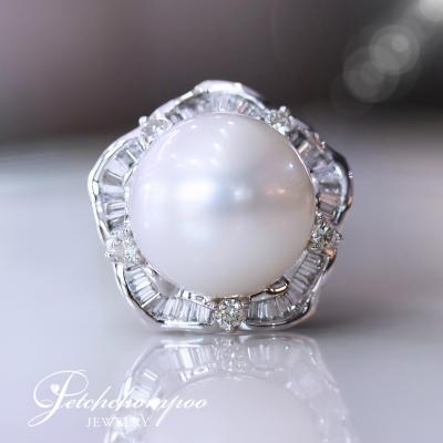 [25255] 16 mm Southsea pearl with diamond ring  79,000