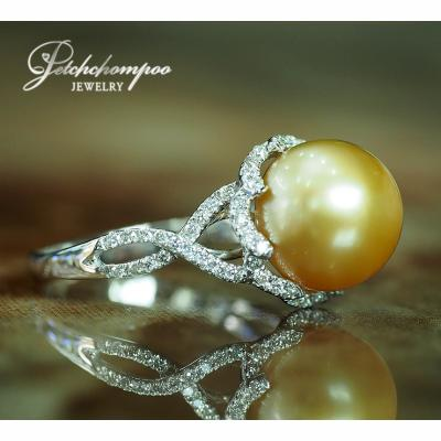 [023492] golden South Sea with diamond ring Discount 39,000