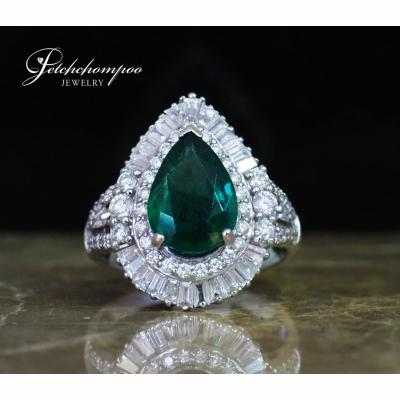 [024998] Emerald and diamond ring Discount 89,000