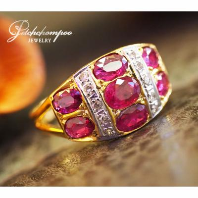 [023537] Ruby with diamond Ring Discount 29,000