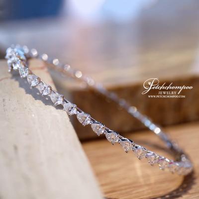 [25698] กำไลเพชรรอบวง Pear Shape Diamond  199,000