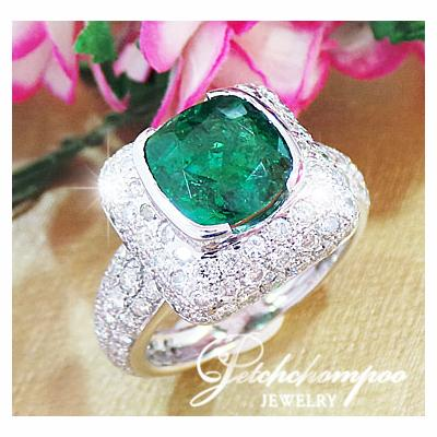 [011653] Emerald ring, TOP color  89,000