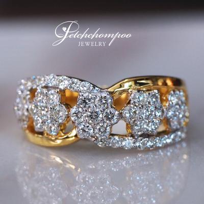 [25425] แหวนเพชรหน้ากว้าง  25,900